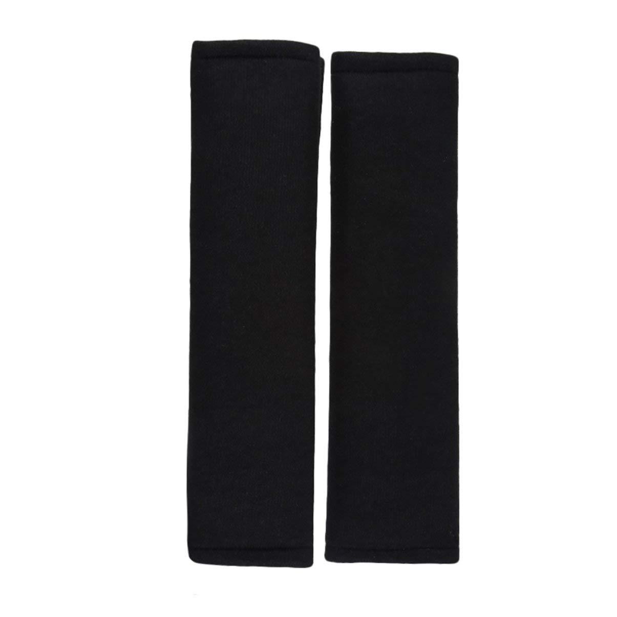 2pcs de voiture confortable ceinture de sécurité épaulettes épaulettes couverture Soft Cushion Harnais Pad Truck Strap Cover automobile accessoires Triamisucake