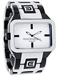 Rockwell Time Mens Duel Time Watch, Black