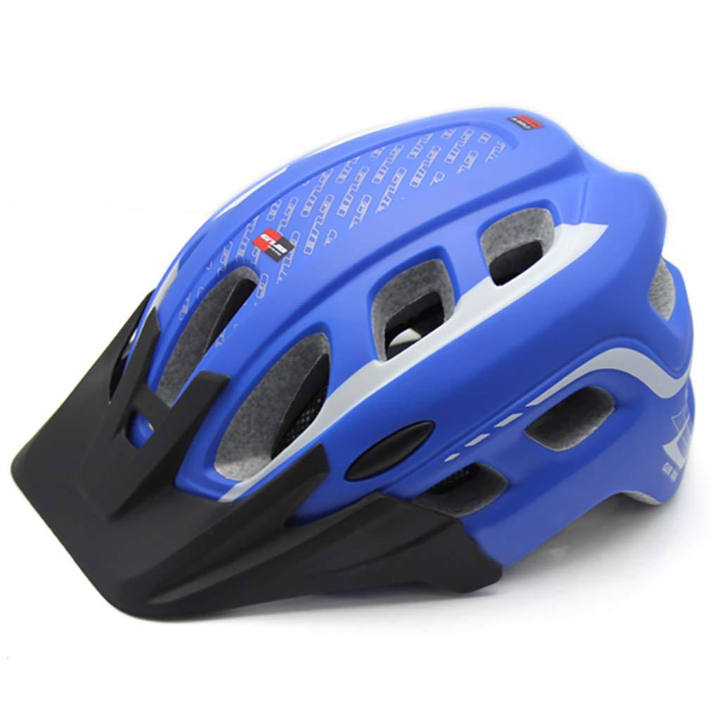 blueee Medium ZH Mountain Bike Helmet, Cycle Helmet, Sports Safety Predective Helmet