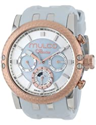 MULCO Womens MW3-11169-013 Lincoln Illusion Chronograph Analog Swiss Movement Watch