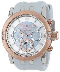 MULCO Women's MW3-11169-013 Lincoln Illusion Chronograph Analog Swiss Movement Watch