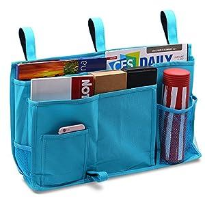 Startostar 8 Pocket Bedside Storage Bag Caddy Hanging