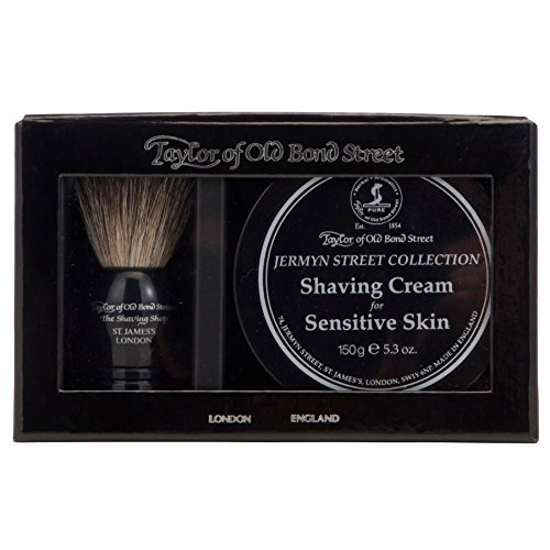 Taylor of Old Bond Street Jermyn Badger Shaving Brush Set