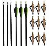 "Best iSport Arrows - I-sport 32"" Archery Arrow Nocks Fletched Arrows Fiberglass Review"