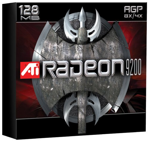 - ATI Technologies Radeon 9200 128MB Video Graphics Card