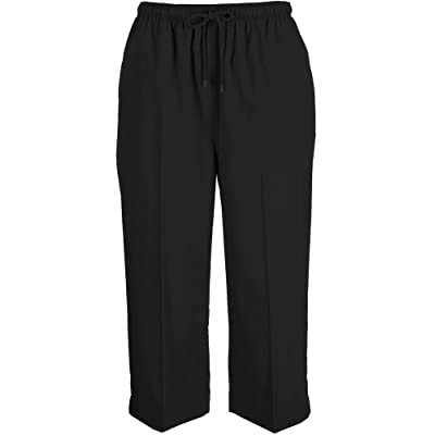 Coral Bay Womens Drawstring Twill Capris | Amazon.com