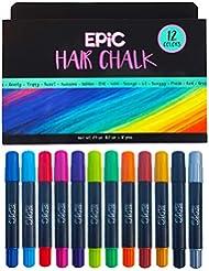 EPIC - Hair Chalk Set - Great Christmas Gift- 12 Large...