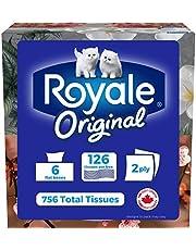 Royale 3 Ply Facial Tissue, Soft & Strong, Grande Tissue Box