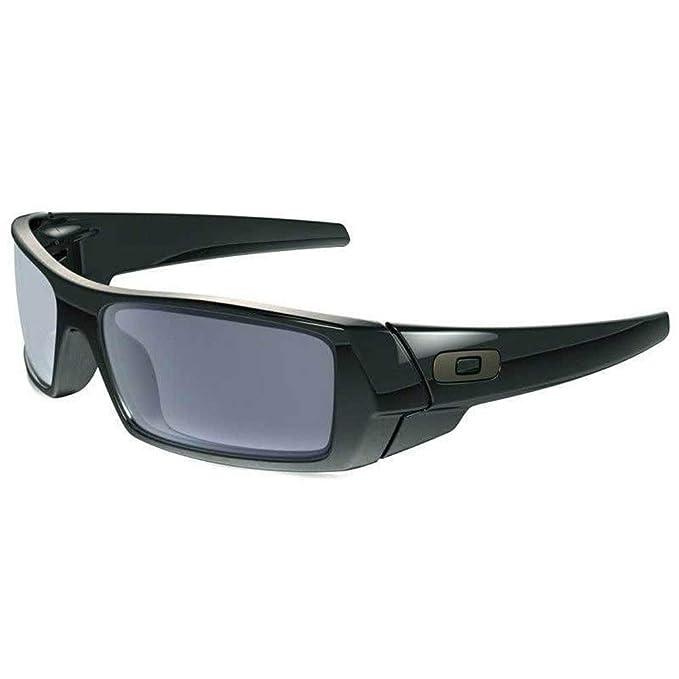d49f21fe939 Oakley OO9014 03-471 Polished Black Gascan Wrap Sunglasses Lens Category 2   Amazon.co.uk  Clothing