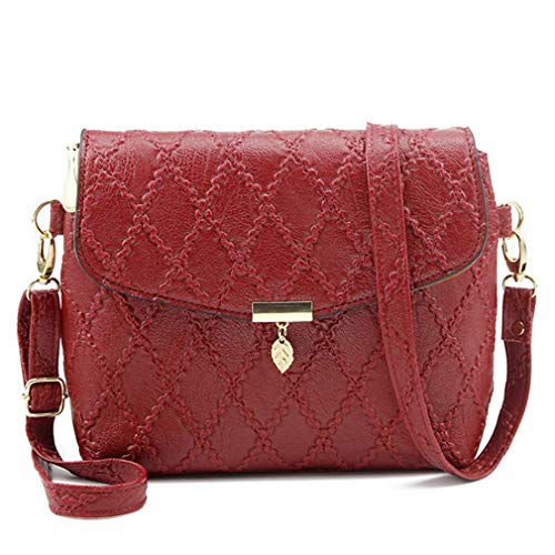 Bolsos Bags Black de Shoulder Mujer Red Bagcross Messenger HPHqa