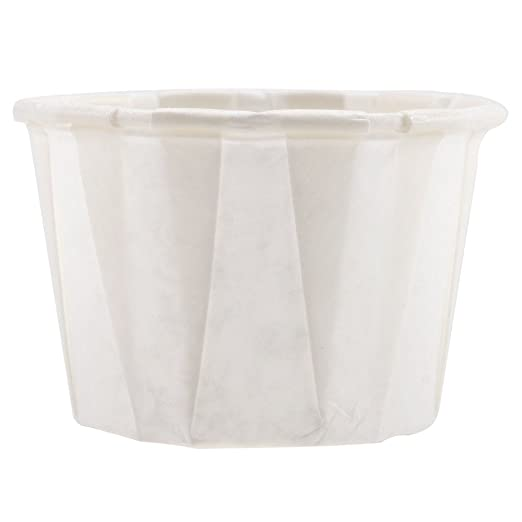 Xtra Durable Paper Souffle Cups by PrimeMed .75oz 1000 ct