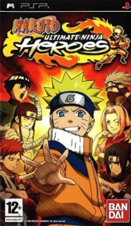 Amazon.com: PSP - Naruto: Ultimate Ninja Heroes - [PAL EU ...