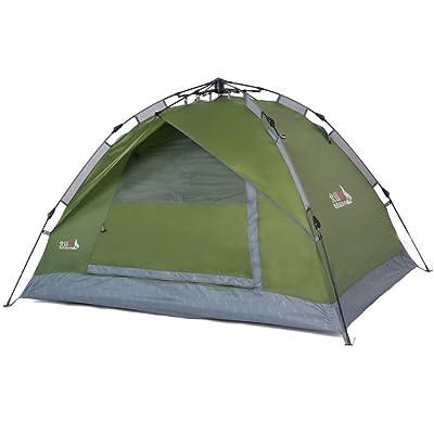 Double pluie automatique tente extérieure matériel de camping de tente de camping ouvert rapide