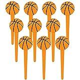 "Basketball 3"" Cupcake Picks (36 Pack)"