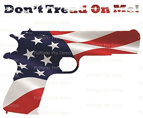 1/4 Sheet - Don't Tread on Me Flag 1911 American Flag - Edible Cake/Cupcake Topper!!!