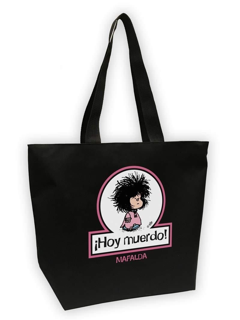 Bolsa Mega shopper Mafalda. Hoy muerdo (BOLSAS): Amazon.es: Quino: Libros