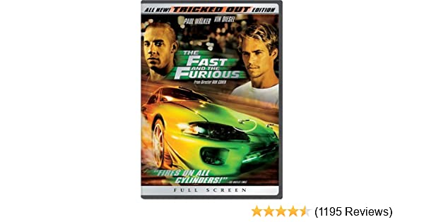 Amazon.com: The Fast and the Furious (Full Screen Tricked Out Edition): Vin Diesel, Paul Walker, Michelle Rodriguez, Jordana Brewster, Rick Yune, Ja Rule, ...