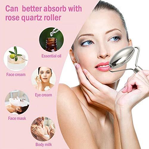Stainless Steel Beauty Roller, Face Roller, Facial Beauty Roller Skin Care Tools, Stainless Steel Massager for Face…