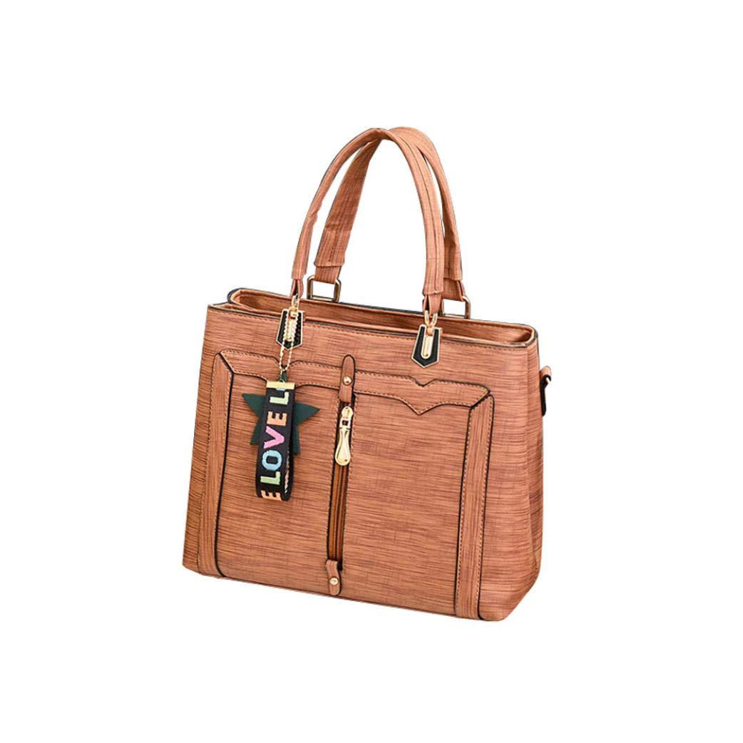 Bolayu Sexy Women Solid Star Crossbody Bag Messenger Bag Shoulder Bag Handbag (Orange)
