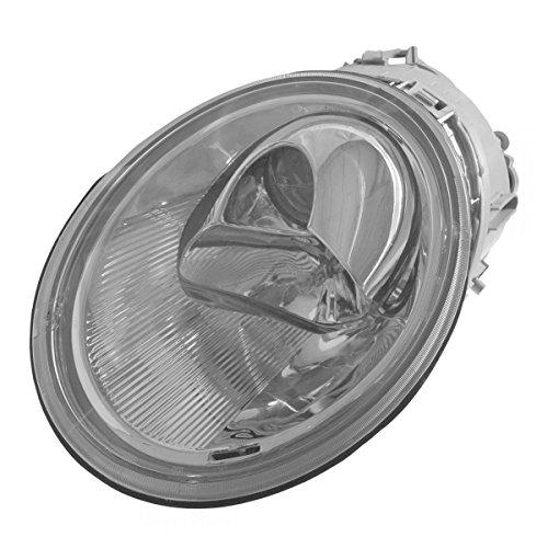 Halogen Headlight Headlamp Left LH Driver Side for 98-05 VW Beetle ()