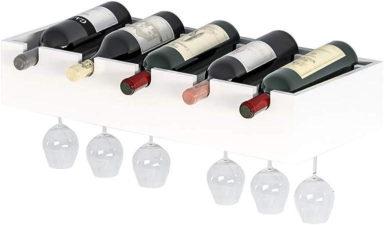 5 Bouteille Métal Casier à Vin Cuisine Bar organisateur stockage support affichage Liège Support