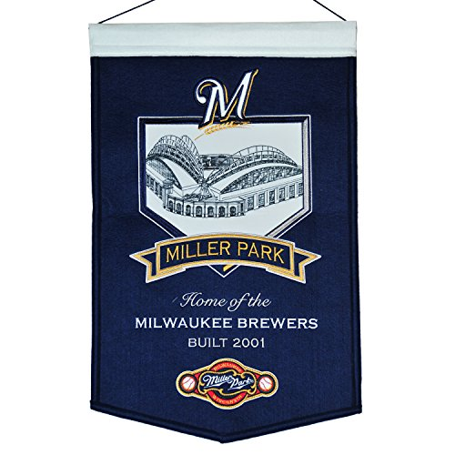 (Winning Streak MLB Milwaukee Brewers Miller Park Banner, One Size, Multicolor)