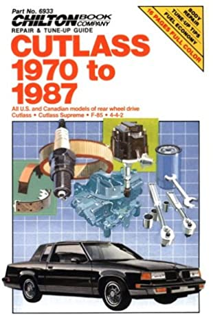 cutlass 1970 87 chilton s repair manual chilton 8601422489729 rh amazon com