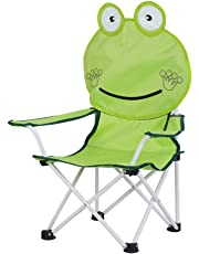 LIOOBO Portable Collapsible Chair Kindergarten Play Chair for Outdoor Fishing Camping Traveling Kids Casual Lounge Chair-(Frog Chair)