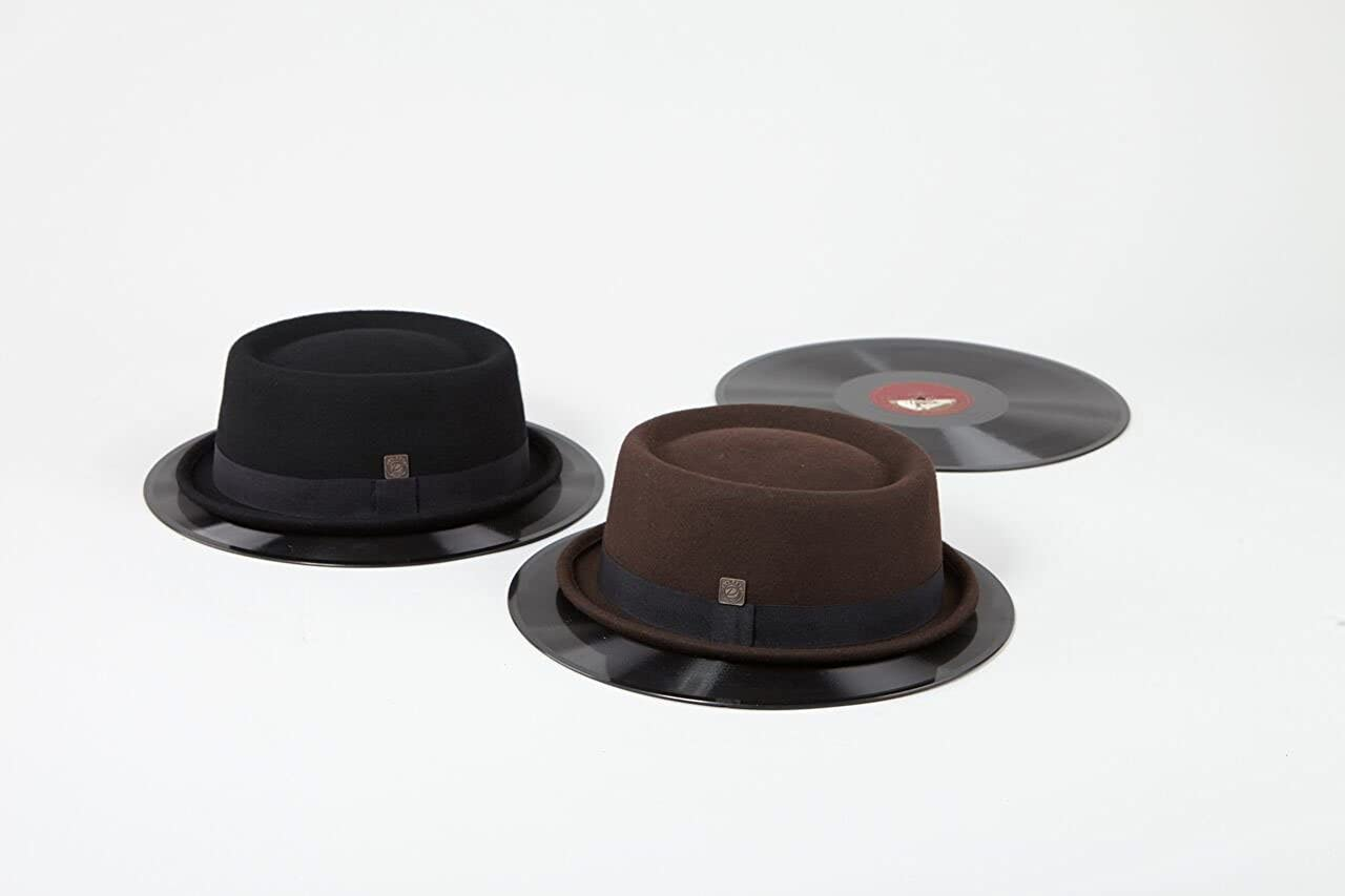 Dasmarca Jack Wool Felt Winter Porkpie Hat