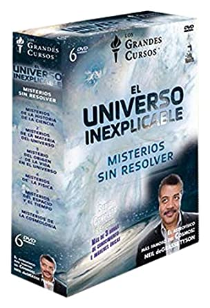 El Universo Inexplicable Misterios Sin Resolver 6 Dvd Movies Tv