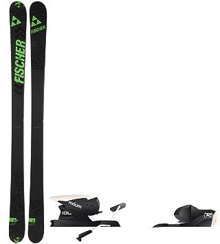 aebb0b0021 Fischer Nightstick Skis Mens 163 + Rossignol Axium 100 Ski Bindings   Amazon.ca  Sports   Outdoors