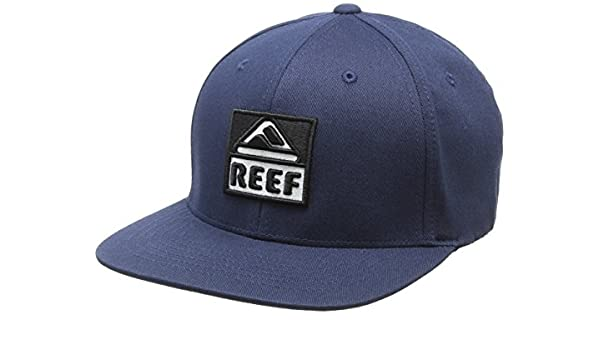Reef_Apparel Reef Classic Block I Indigo, Gorra de béisbol para ...