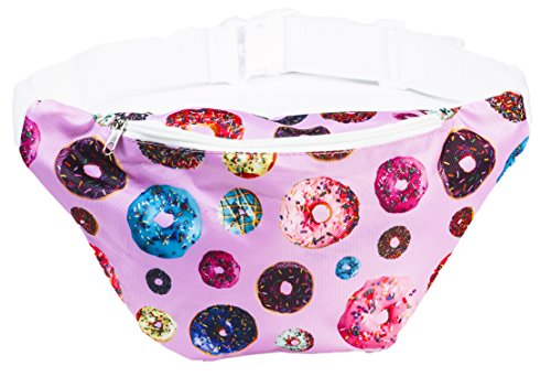 Dunkin Donuts Halloween Costume - Funny Guy Mugs Donut Fanny Pack