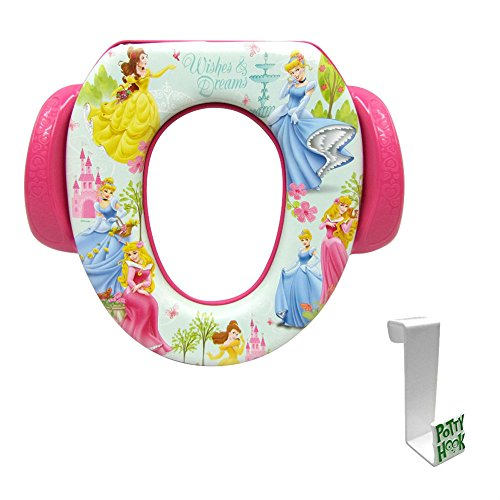 (Disney Princess Wishes and Dreams Soft Potty Seat with Toilet Tank Potty)