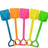 Snow Toys Shovel Children's Beach Toys Colored Plastic Shovel(Color Random)