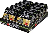 Brazilian Coffee Candy Display with 10 Refillable Tins (40g each tin)