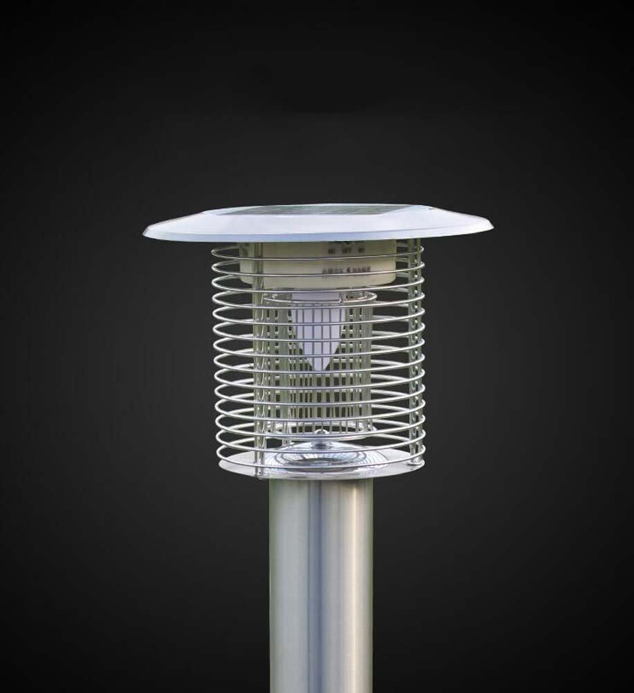 Outdoor-Solar-Moskito-Lampe, intelligente Lichtsteuerung Mosquitto Mörder, Bug Strahlung, Zapper, Ultra-leise, keine Strahlung, Bug wasserdicht, professionelle elektronische Insektenvernichter, Beleuchtung / Mosquito Control 4fdbfc