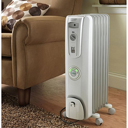 Delonghi Oil Filled Electric Radiator With Comfor Temp