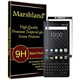 Marshland Tempered Glass for BlackBerry KEY2 (Black)
