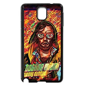 Samsung Galaxy Note 3 Cell Phone Case Black_Hotline Miami 2 Wrong Number 6 Sdaxi