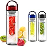 Fruit Infusing Water Bottle with Fruit Infuser | 8 Colours | WIMPORTS