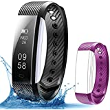 Fitness Tracker,Beartwo Smart Bracelet IP67 Waterproof Bluetooth Smart Remote Self-Timer Smart Watch Activity Tracker Calorie Counter Band Sleep Monitor For Android iOS Phone