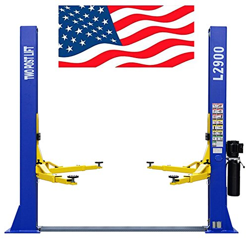 Lift Post (CR Two Post L2900 220V Auto Lift 9,000 lb. Capacity Car Vehicle Lift Great Quality / 12 Month Warranty)