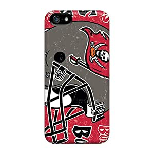 New Customized Design Tampa Bay Buccaneers For Iphone 5/5s Cases Comfortable For Lovers And Friends For Christmas Gifts