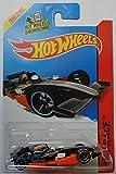 2014 Hot Wheels HW Race F1 Racer (Black) 144/250 by Mattel