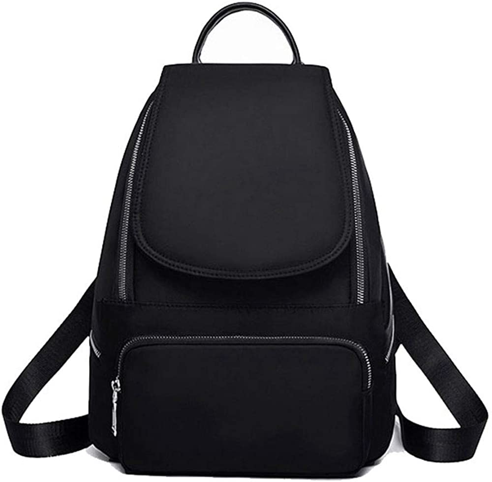 Women's Backpack Wallet Fashion Nylon Black Ladies Business Bag