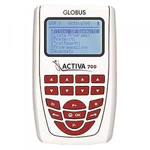 GLOBUS - ACTIVA 700 - Electrostimulator 4 channels - 271 prog by Globus