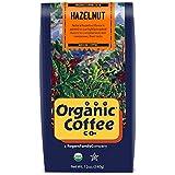 The Organic Coffee Co., Hazelnut Crème- Ground, 12 Ounce- 3 PACK, Flavored, USDA Organic