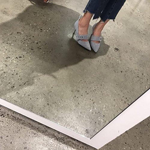 Zapatos de Mujer de Tacón Alto de Punta Fina Y Puntiaguda UN