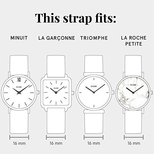 CLUSE - CLS347 - Bracelet pour montre - Femmes - Multicolore (or rose)   Amazon.fr  Montres f760f38087a1